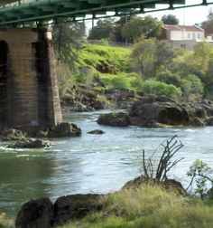 Feather river, oroville, ca