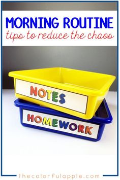 The Morning Routine - The Colorful Apple Creating a morning routine for kids in the classroom can make all the difference! This post shares ways to organize your elementary school classroom to optimize that busy time of the day. Classroom Hacks, Classroom Organization, Classroom Management, Classroom Routines And Procedures, Teaching Procedures, Classroom Setup, Class Management, Behavior Management, Organization Ideas