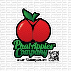 Official Phatapples Company Collectors Sticker
