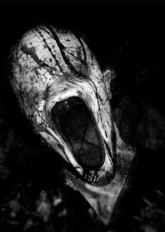 scary drawing Illustration creepy weird horror strange ...  |Disturbing Dark Scary