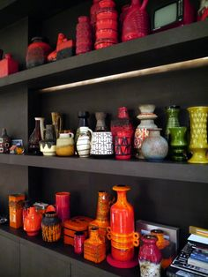 Sonjaslavalounge pictures of (a small part of) her private collection of Fat Lava ceramics!