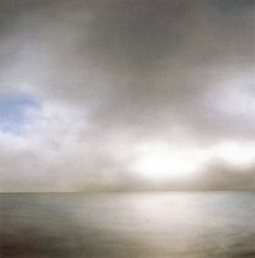 Gerhard Richter/ Seascape (Slightly Cloudy)/1969  200 cm x 200 cm /Oil on canvas