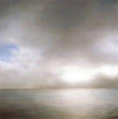 Gerhard Richter/ Seascape (Slightly Cloudy)/1969 200 cm x 200 cm /Oil on canvas