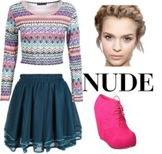 """""""Look"""" by beautiful-crazy ❤ liked on Polyvore"""
