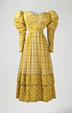 Dress  1827  The Los Angeles County Museum of Art