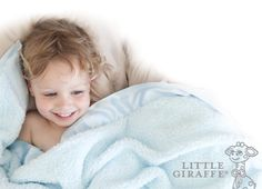 Soft and luxurious, yet practical - we LOVE blankets and accessories from #LittleGiraffe! #PNapproved