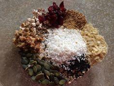 Granola Fruit In Season, Enjoy It, Recipe Of The Day, Breakfast Ideas, Granola, Tasty, Good Things, Homemade, Meals