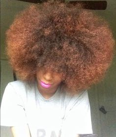 Kapri from Alabama // 3C/4A Natural Hair Style Icon | Black Girl with Long Hair