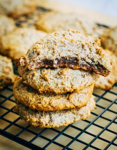 Chewy and sweet, these paleo almond cookies are completely addicting but deceptively healthy! Vegan, gluten-free, and paleo.