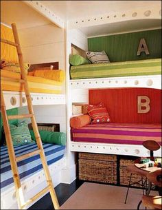 Bunk Beds  - really these might be the cutest I have ever seen