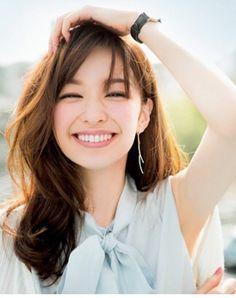 Asian Makeup, Beauty Shots, Beautiful Asian Women, Gorgeous Girl, Cute Beauty, Messy Hairstyles, Girl Crushes, Her Hair, Asian Beauty