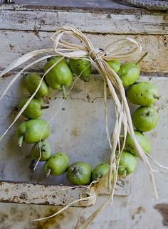 """PEAR"" Autumn Wreath....."