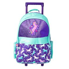 Hola Light Up Trolley Backpack With Light Up Wheels School Bags For Kids, Kids Bags, Barbie Vending Machine, Girls Rolling Backpack, Girls Luggage, Ugg Shop, Disney Princess Backpack, Hello Kitty Toys, Boots