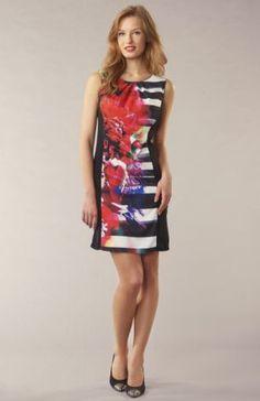 Moda floral sleeveless dress Asda