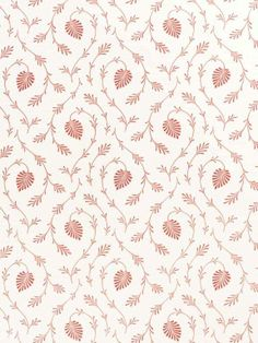Bennison Osiris Textile Prints, Leaf Prints, Textile Patterns, Textile Design, Doll House Wallpaper, Fabric Wallpaper, Embroidery Motifs, Hand Embroidery Designs, Cotton Lawn Fabric