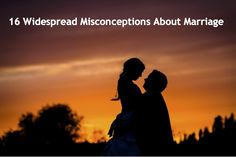 If I'm honest with myself, I entered into my first marriage with many of these misconceptions. These beliefs made recognizing and admitting to any cracks in the marriage a proposition too scary to face because any faults would threaten my assumptions. And I'm not alone in these inflated expectations of marriage. Over time, matrimony has … Continue reading 16 Widespread Misconceptions About Marriage