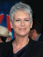 How to style hair like Jamie Lee Curtis.