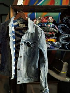 Everyone needs a denim jacket hanging in the closet.