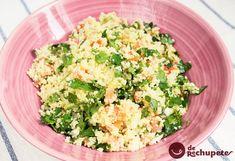 Tabulé. Ensalada libanesa con cuscús perfecta para estos calores http://www.recetasderechupete.com/tabule-ensalada-libanesa-con-cuscus/13083/ #receta