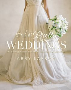 Pssssttt... we have a secret to share. We've been hard at work on our first book, Style Me Pretty Weddings, set to be released on December 18!  If you just can't wait to get your hot little hands on a copy, you can pre-order on Amazon here: http://www.amazon.com/Style-Pretty-Weddings-Inspiration-Unforgettable/dp/0770433782/ref=sr_1_1?ie=UTF8=1346185870=8-1=style+me+pretty. Gorgeous Cover Photography by http://www.josevillaphoto.com/