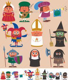 Medieval People 2 - People Characters