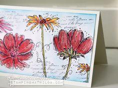 StampingMathilda: Fine Flowers - Watercolored