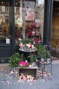 Store front in the Marais, Paris.