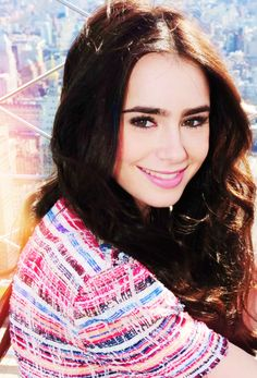 Lily Collins, love her xx