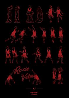 Choreography turned into posters. Hard to explain -- click to see more.
