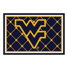 Collegiate West Virginia University Area Rug