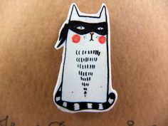 The Very Undercover Cat. $17.00, via Etsy.