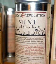 Mint with Green Tea Organic Herbal Tea by TheHerbalRevolution, $14.00