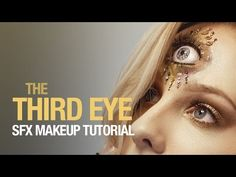 The third eye sfx makeup tutorial - YouTube This would be a fun things to do for a #Nightvale cosplay.