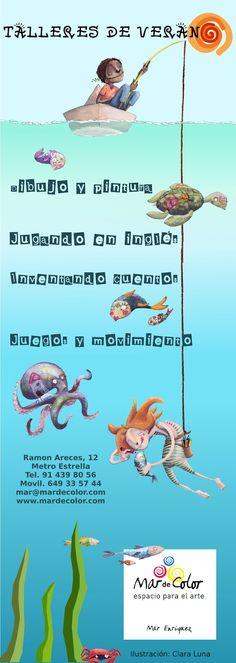 Ilustraciones de chistera: Talleres de verano