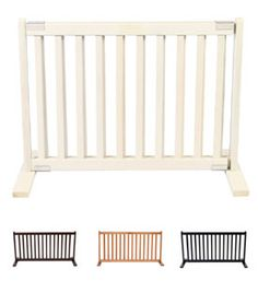 Dynamic Accents Two Panel Small Indoor Wooden EZ Pet Gate 27 Inch ...