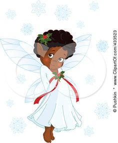 Page 1 Of Royalty Free RF Stock Image Gallery Featuring Christmas Fairies Clipart Illustrations And Cartoons
