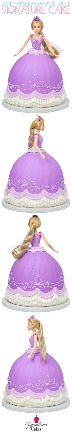 Learn how to make DecoPac's Disney Princess Rapunzel Doll Signature Cake