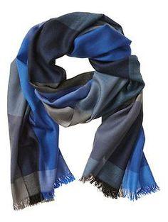 Bold Check Wool Scarf Accessoires, Accessoires De Mode, Mode Homme, Tenues  À La 8f2c0f4ee83