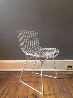 A personal favorite from my Etsy shop https://www.etsy.com/listing/271592932/mid-century-modern-chair-bertoia-chair