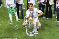 Cristiano Ronaldo has won 81 Champions League games and won the trophy three times