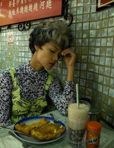 """Senior Citizens"" by Baldovino Barani for SCMP Magazine, via a glimpse of glamour."
