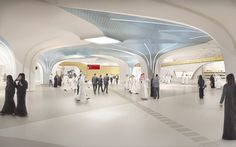 UNStudio Appointed to Create Identity for Qatar's New Metro Network