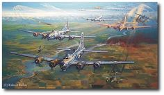 Formidable Fortress by Robert Bailey (B-17)