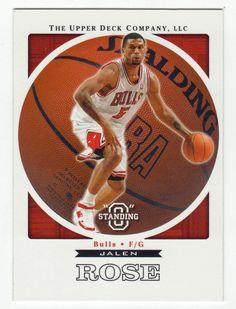 Jalen Rose # 7 - 2003-04 Upper Deck Standing O Basketball
