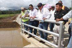 MOP realizó entrega del Puente Vehicular sobre el Río Sabana y rehabilitación de la Carretera Panamericana - http://panamadeverdad.com/2014/10/24/mop-realizo-entrega-del-puente-vehicular-sobre-el-rio-sabana-y-rehabilitacion-de-la-carretera-panamericana/