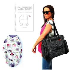Newborn Gift Pack, Nappy Bag, Baby Shower Gift, Baby Swaddle Wrap   Baby Buy Direct