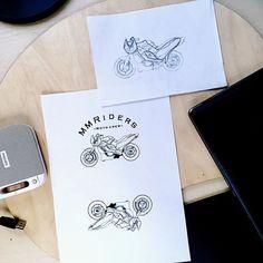 Jenom logo pro nejaky motorkare🤷♀️ #art#graphic#design#aintgottime  #bikers#motorbike