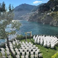 The Fairytale #wedding @villatreville #telijamin #amalficoast #love #beauty #travel #positano #italy 🇮🇹