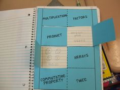 Math Journals, fun year-round project to keep students interested.