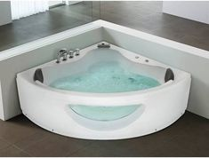 Jacuzzi Corner Bath Bathtub Indoor Jacuzzi Shower Renovation